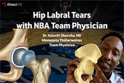 Hip Labral Tears - KinectMD Podcast